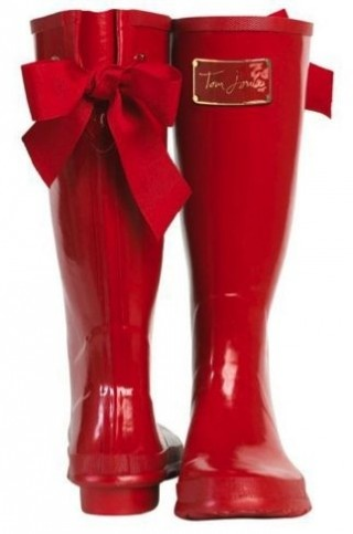 red wellies - WANT