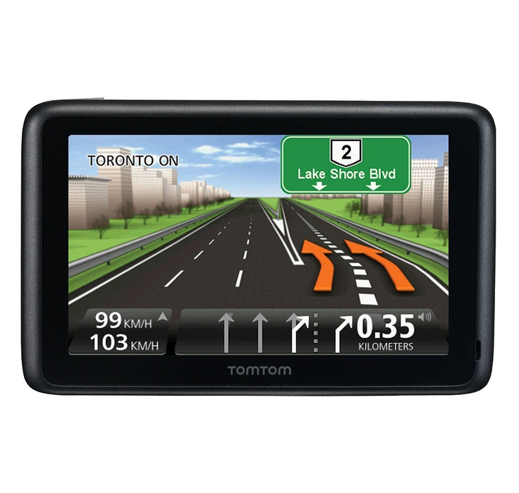 "Buy Tom Tom Go 2535tm Wte 5.0"" GPS with Traffic, Map, Bluetooth, TomTom and GPS Navigation from The Shopping Channel, Canada's home shopping network - Online Shopping for Canadians #ilovetoshop"