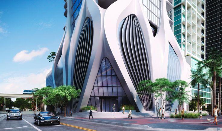 Zaha Hadid's One Thousand Museum Tower