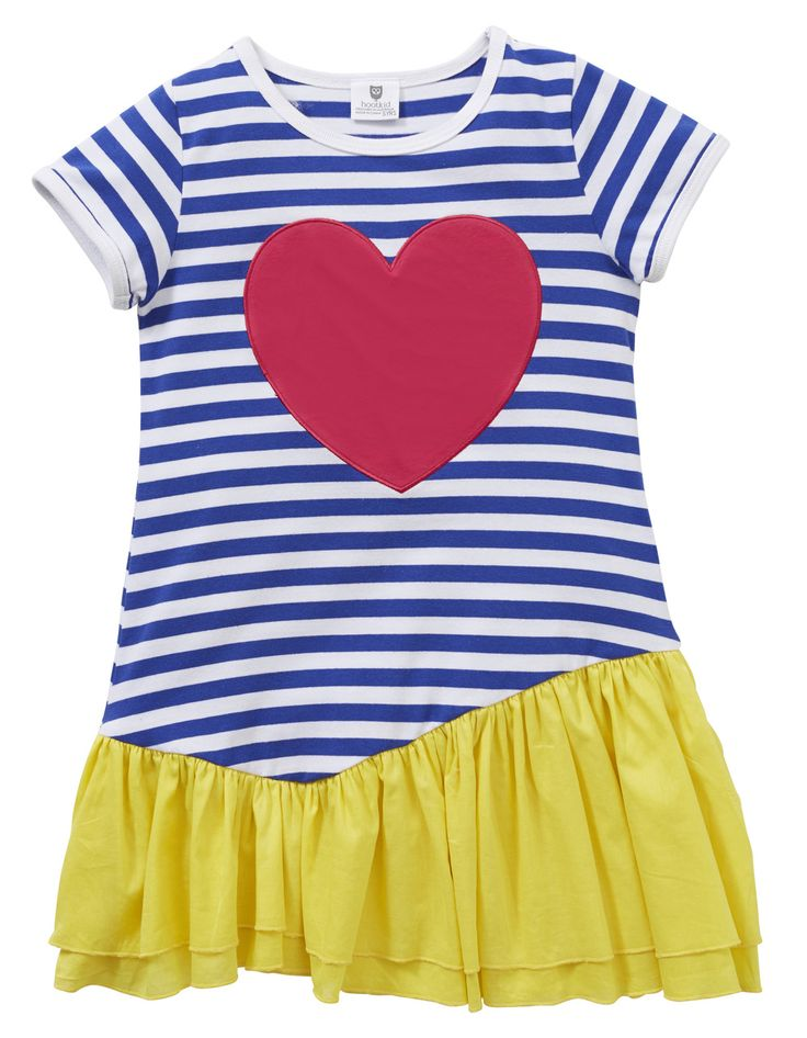 Machiko - a boutique for kids - Hootkid | All Heart Dress, $39.95 (http://www.machikobaby.com.au/products/hootkid-all-heart-dress.html)