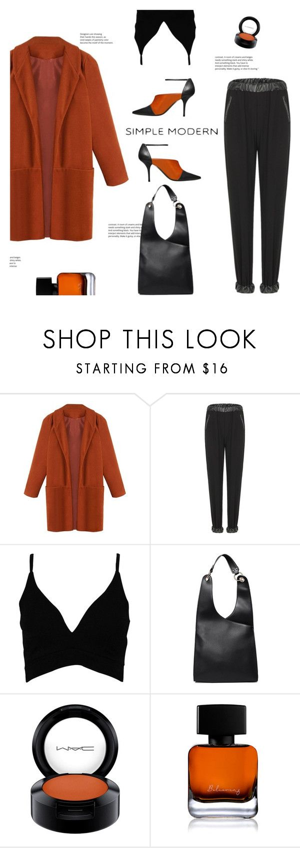 """""""yoins 40"""" by meyli-meyli ❤ liked on Polyvore featuring Boohoo, MAC Cosmetics, The Collection by Phuong Dang, Supra, yoins, yoinscollection and loveyoins"""