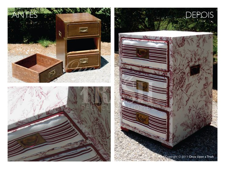 MESA DE CABECEIRA QUELUZ * Before & After * By Once Upon a Trash