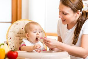 mother feeding baby Feeding Your 9- to 12-Month-Old  More: http://www.newmomstuff.com/baby-feeding