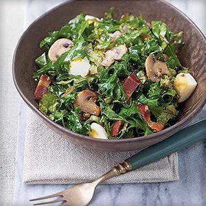 Салат с кудрявой капустой