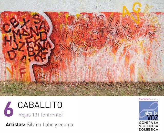 Artistas importantes se unieron para Alzar la Voz contra la violencia de género y pintaron la ciudad se Buenos Aires. Sumate a esta campaña de Fundación Avon Repineando la imagen que más te guste.: Good Air