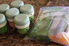 1 month of baby food, 1 hour, 20 bucks. recipes, grocery list, and order of operations... the complete package and easy to do.