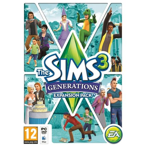 The Sims 3: Generations (Expansion Pack) (PC & Mac) Free Download
