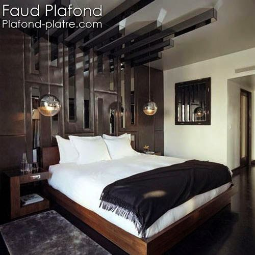 17 best images about faux plafond on pinterest coiffures for Faux plafond moderne chambre a coucher