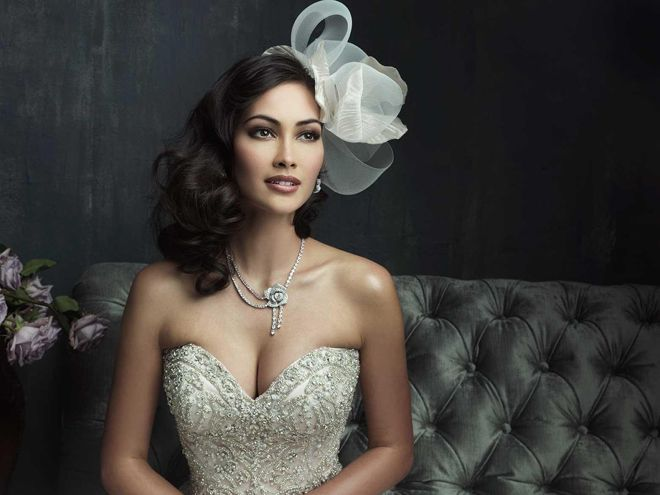 Allure Couture Fall 2013 Bridal Collection via Belle The Magazine
