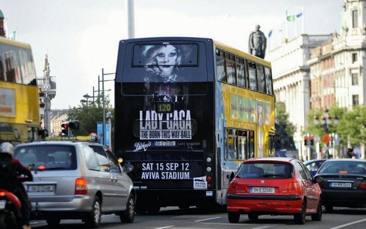 Lady Gaga Super Rear