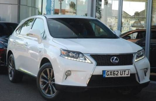 Used 2012 (62 reg) White Lexus RX 3.5 F Sport for sale on RAC Cars