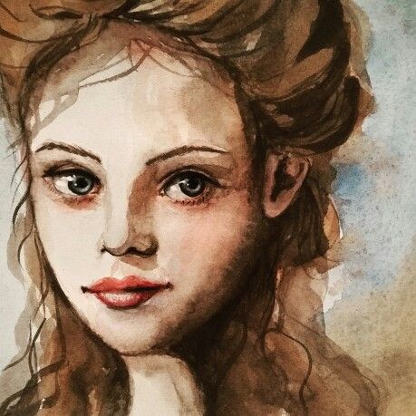 Watercolour study by Corinne Dany