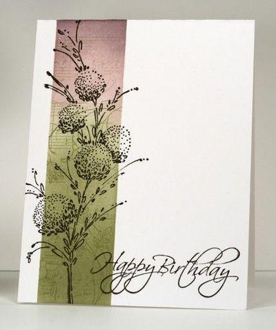 penny black delicate florals -