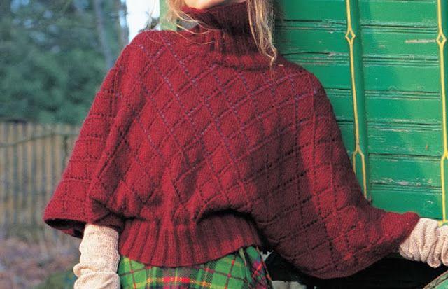 Le modèle du pull manches chauve-souris... Impéccable ! ~ Balaine | Laine online discount | Modeles gratuits