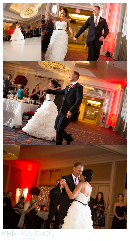 Boston Wedding Photography by Ken Marcou Image & Media at Hyatt Regency Boston and St. Anthony's Parish, Revere, MA