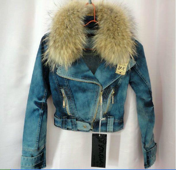 Best 25  Denim jacket with fur ideas on Pinterest | Fur lined ...