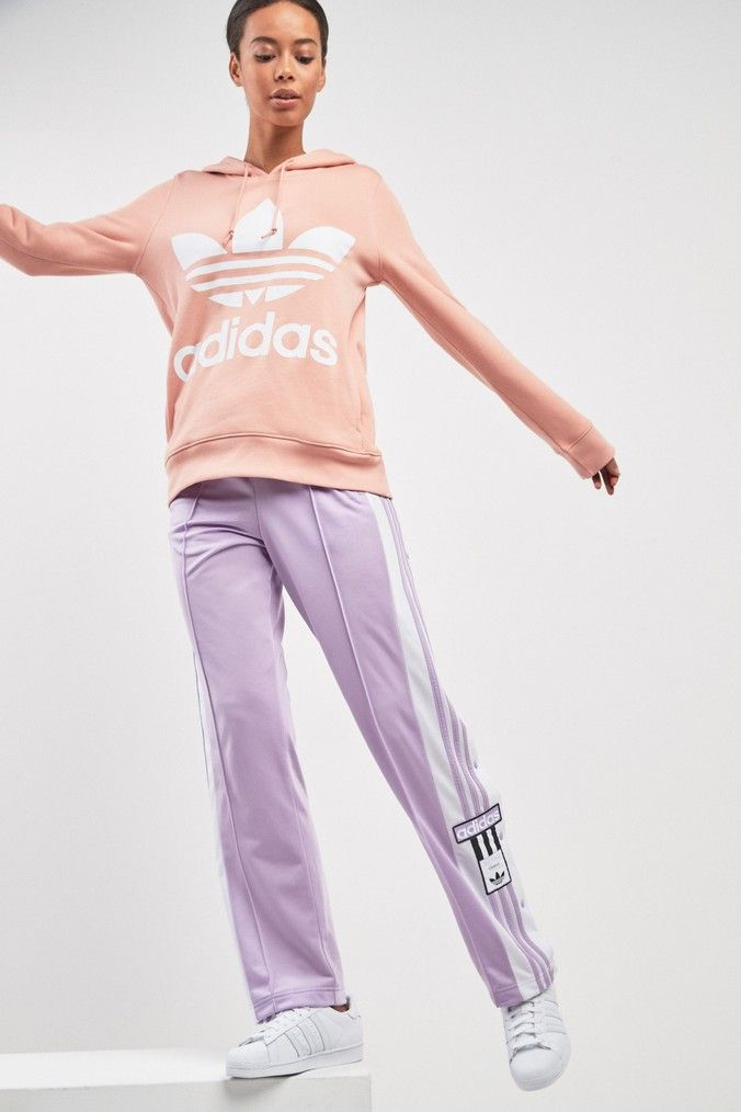 Womens adidas Originals Lilac Adibreak Pant Purple