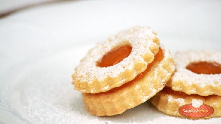 Linzer karika videó recept