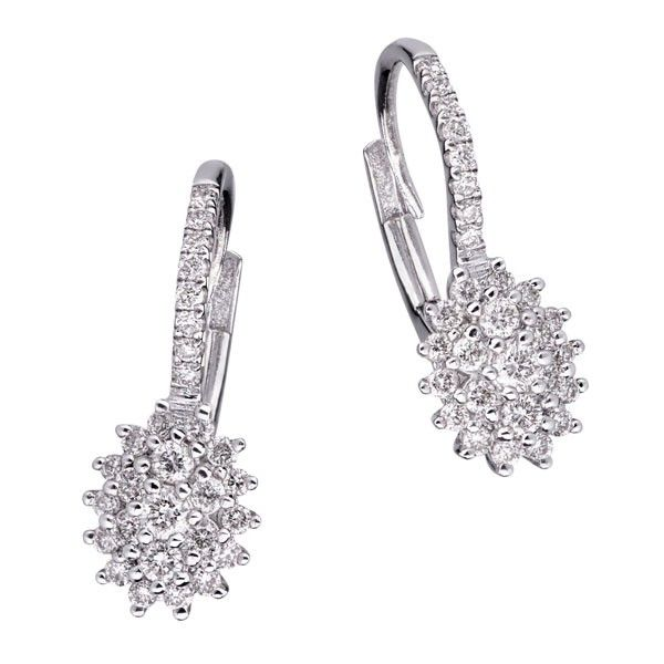 Cercei diamante DCGV00593 ‐ Bijuteria Teilor