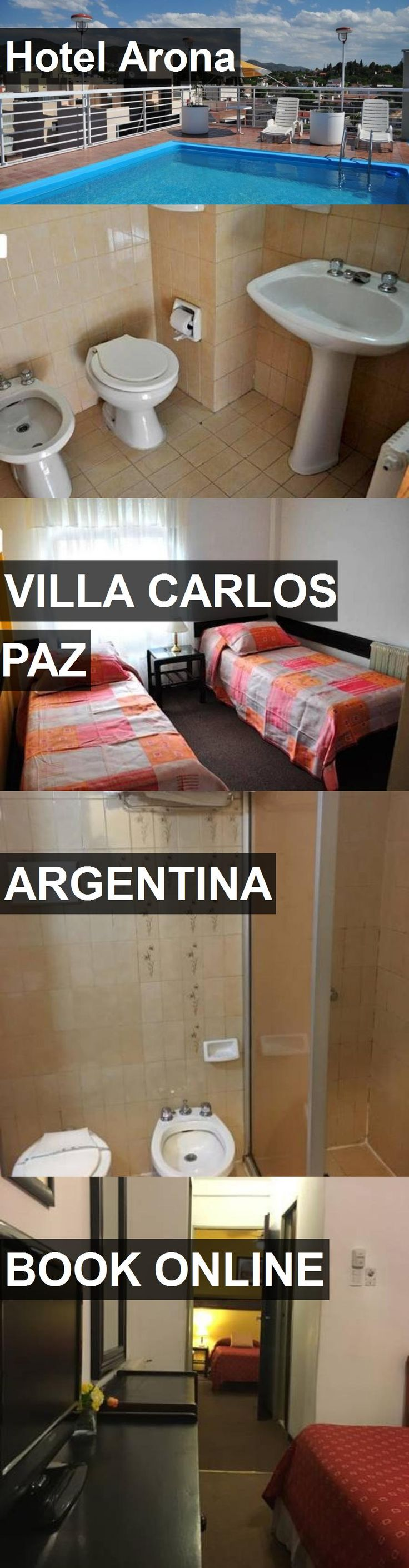 Hotel Arona in Villa Carlos Paz, Argentina. For more information, photos, reviews and best prices please follow the link. #Argentina #VillaCarlosPaz #travel #vacation #hotel
