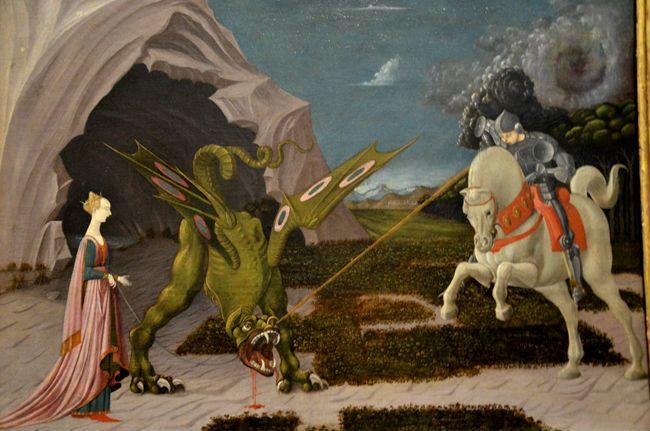 Paolo Uccello, San Giorgio e il drago