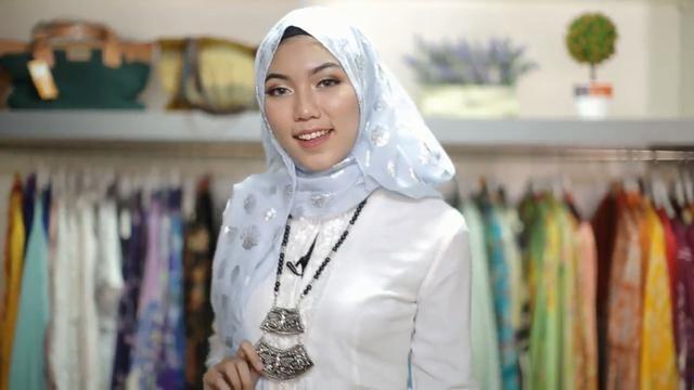 Tutorial Hijab Pashmina Untuk Baju Kebaya Blog Lif Co Id