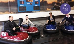 Groupon - Whirlyball Outing for 15 with Pizza & Drinks at Joe Dumars' Fieldhouse in Shelby Township (up to $ 219.85 Value) in Shelby Township. Groupon deal price: $99