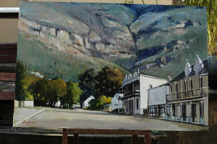 Picketberg - Western Cape - oil by John Smith