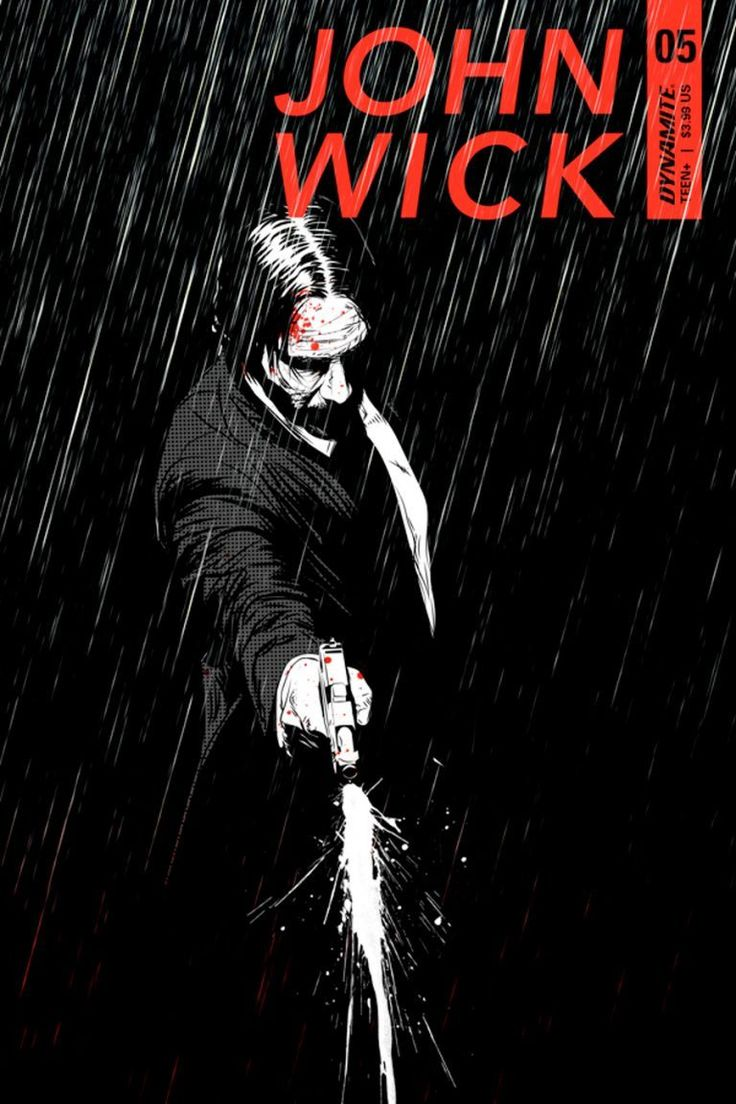 John Wick #5 Cover First Look Revealed.