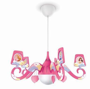 Dětský lustr 71757/28/16, #chandelier #princezna #princess #ceiling #children #kid #kids #baby #girl #led #philips