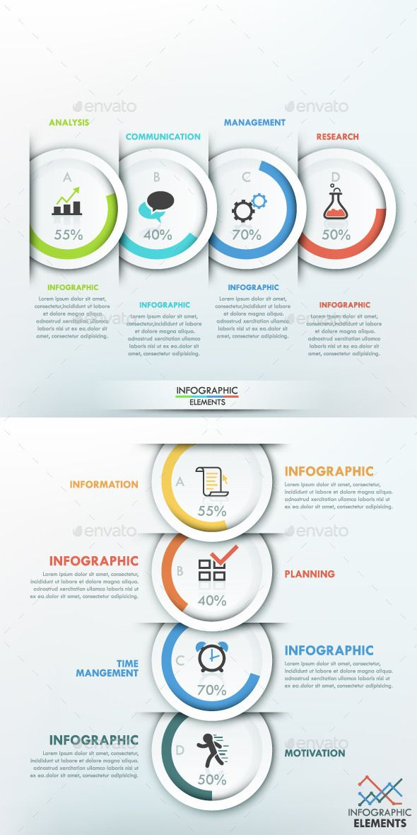 Modern Infographic Options Banner (2 Items) Template #design Download: http://graphicriver.net/item/modern-infographic-options-banner-2-items/11788051?ref=ksioks