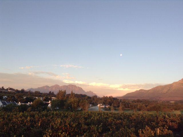 Simonsberg mountains