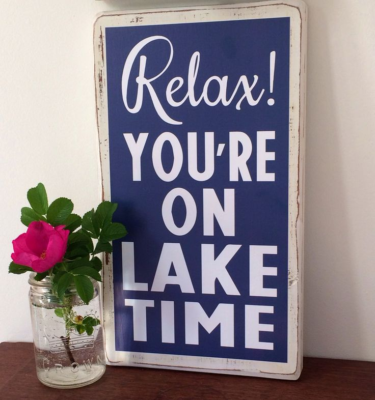 Relax! Made by Backwoods Boutique. Available on Etsy.