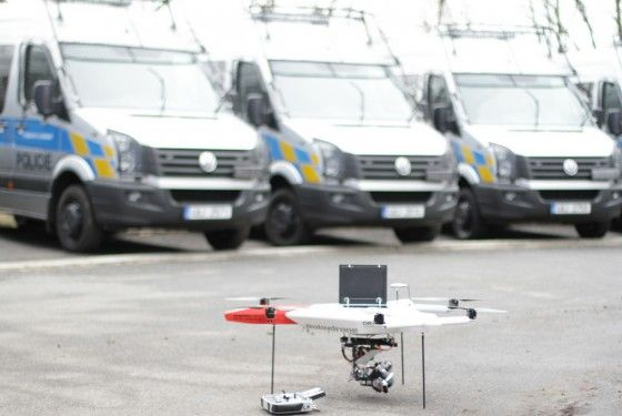 #Robodrone Kingfisher for Police of the Czech Republic