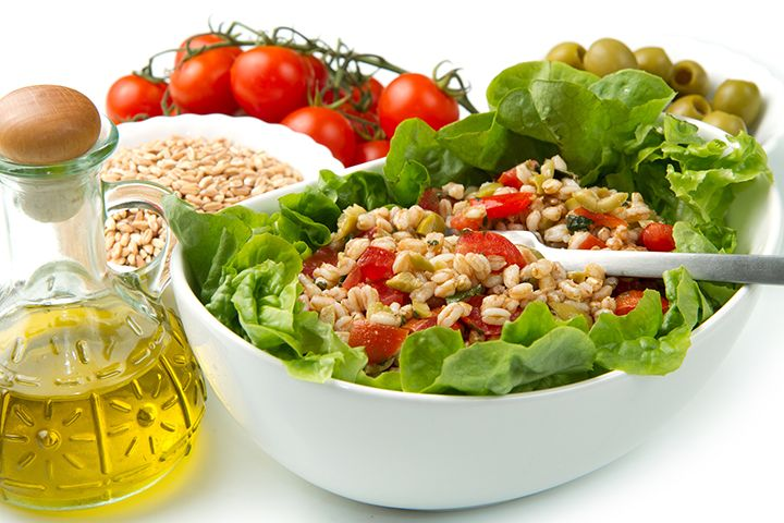... Farro Salad, Salad Recipe, Dr. Oz Farro Recipe, Food Salad, Fiber