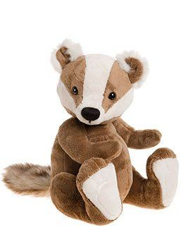 Charlie Bear Baby Boutique Gunther The Badger