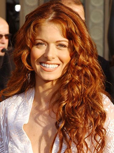 debra messing hair | Debra Messing with Curly Hair - Celebrity Curly Hairstyles - Good ...