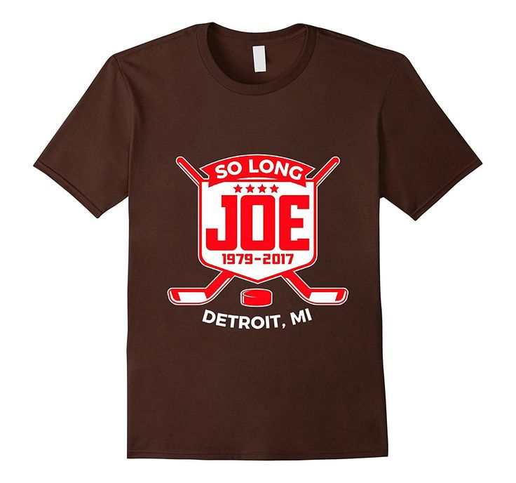 Detroit Hockey So Long Joe T-Shirt