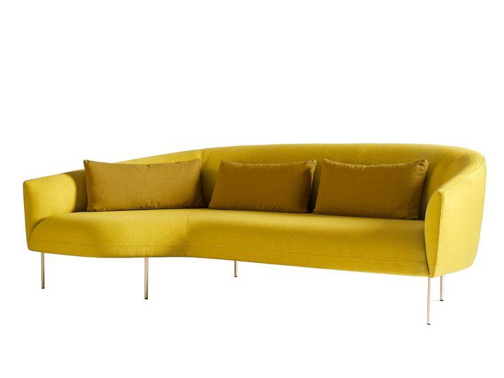 Acquista on-line Roma | divano By tacchini, divano in tessuto design Jonas Wagell, Collezione roma