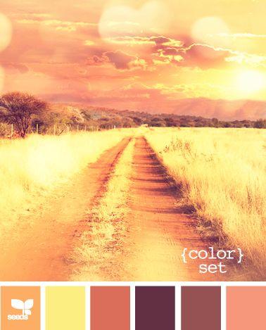 color set: Colors Hands Pick, Warm Color, Color Palettes, Colors Sets, Design Seeds, Sunsets Colors, Colors Palettes, Colors Schemes, Sunsets Colours