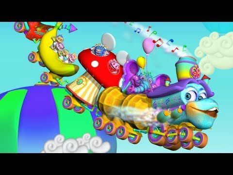 """""""The GiggleBelly Train"""" children's song preview - Fun train music video ..."""