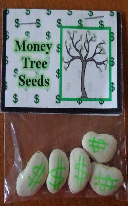 White Elephant, Funny & Gag Gifts ● Money Seed Tree