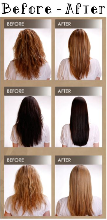 Brazilian Blowout_Before_After (Choose ZERO formaldehyde formula)