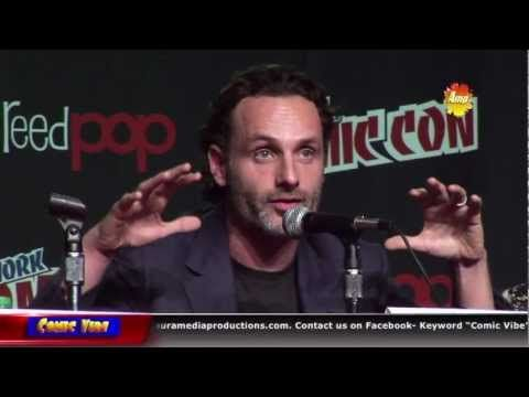 The Cast of the Walking Dead talks about seaon 3 and the shows development at New York Comic Con.     Facebook  http://www.facebook.com/#!/ComicVibe    Twitter  http://twitter.com/#!/ComicVibeTV    Googe +  https://plus.google.com/u/0/b/106783524894231415277/#