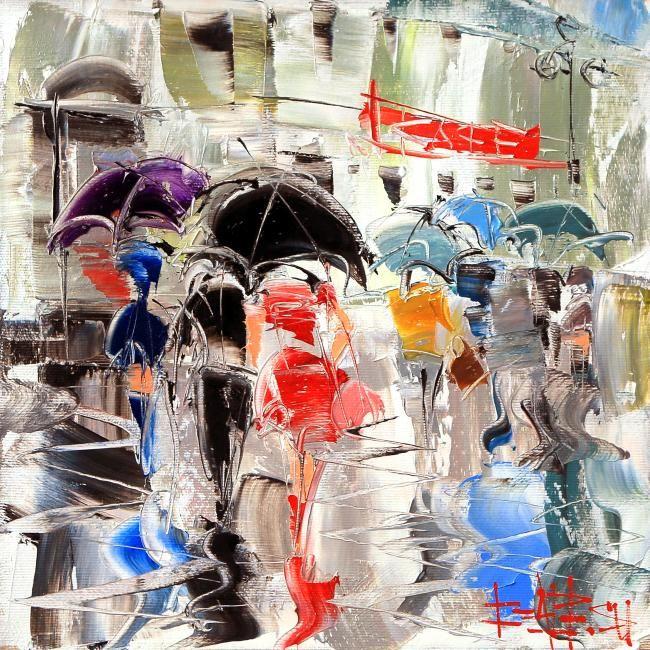 Сухоплюев Константин. Зонтики, Suhopljuev Constantine. Umbrellas