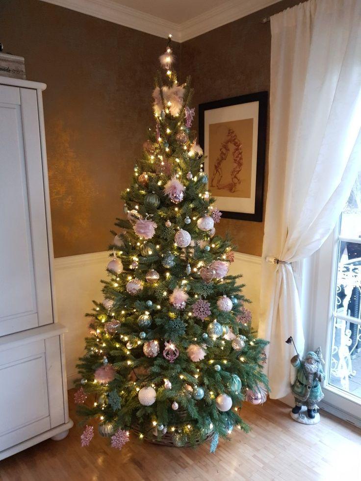 Christmas Tree Pastell Blaufichte Weihnachten Pastell