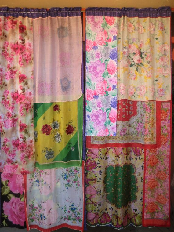 AMERICAN BEAUTY Handmade Gypsy Curtains By BabylonSisters On Etsy