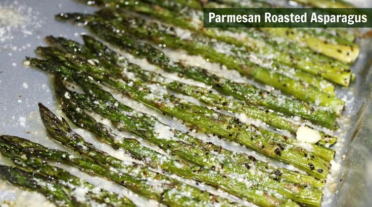 Parmesan Roasted Asparagus Recipe - Views From the Ville