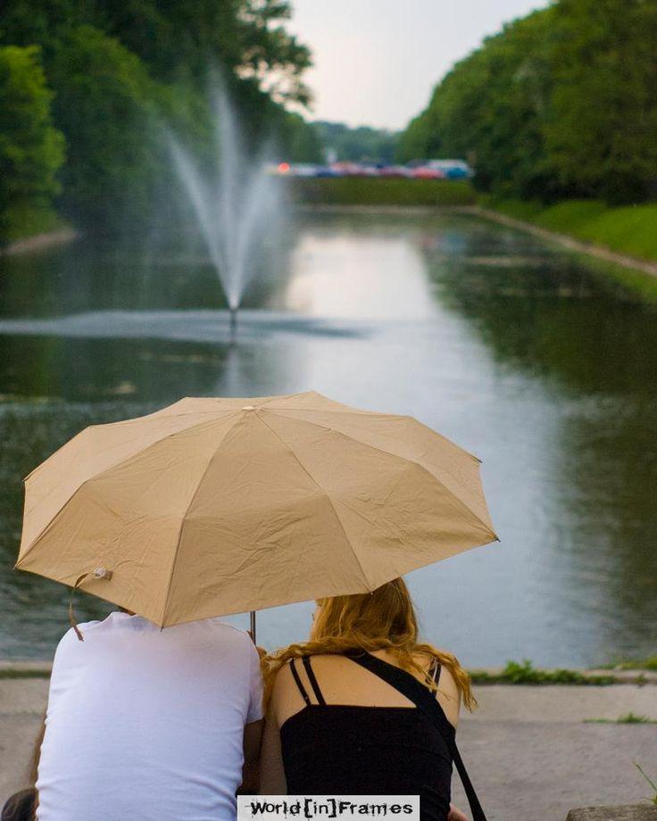 Happy in the rain, Warsaw Warsaw Poland