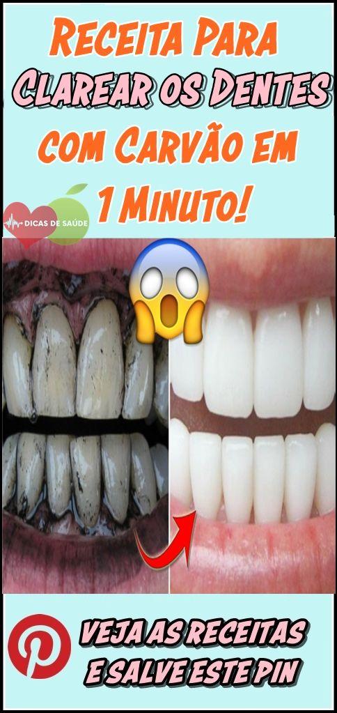 Como Clarear Os Dentes Com Carvao Em 1 Minuto Beleza E Estetica